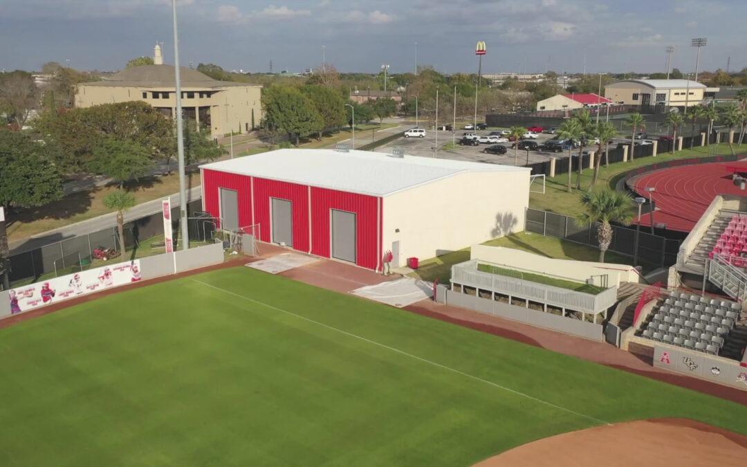 University Of Houston – Softball Hitting Facility