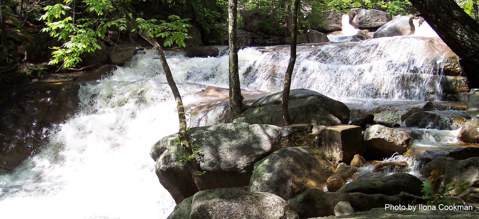 Dianas Baths waterfall