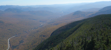 Franconia Notch from Cannon