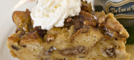 Baked French Toast with whipped cream