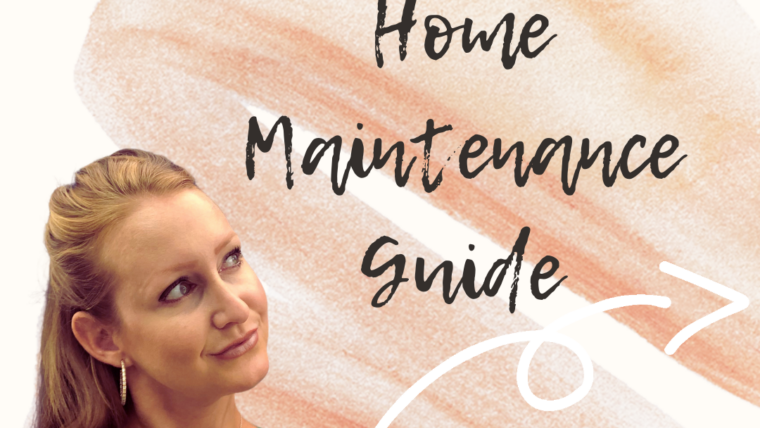 My Ultimate Home Maintenance Guide