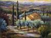 Golden Hour, Tuscany