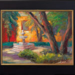 contemporary impressionist, dallas texas artist, travel art, Niki Gulley paintings