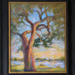 Niki Gulley, Dallas, contemporary impressionist, tree painting