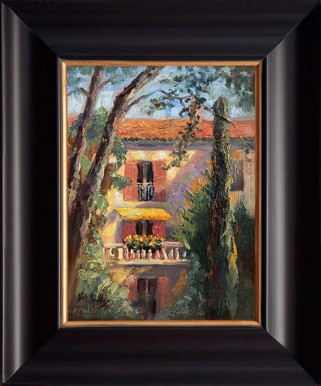 France, contemporary impressionist, dallas texas artist, travel art, Niki Gulley paintings