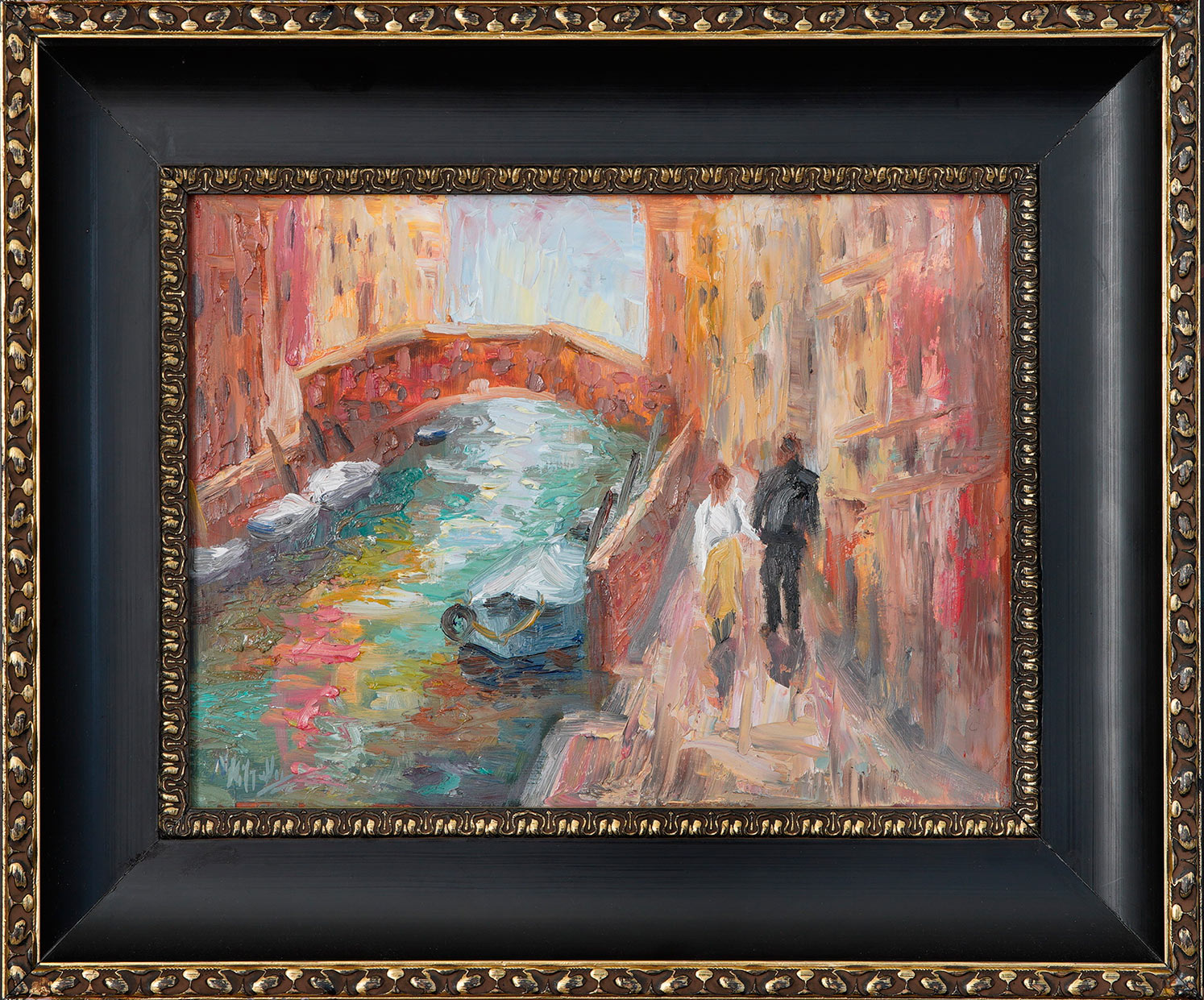 Italy, contemporary impressionist, dallas texas artist, travel art, Niki Gulley paintings