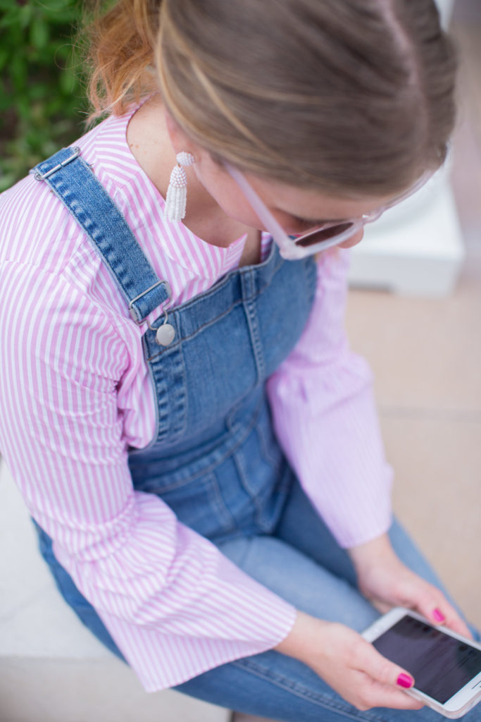 Louella Reese Overalls for Summer // Summer Overalls