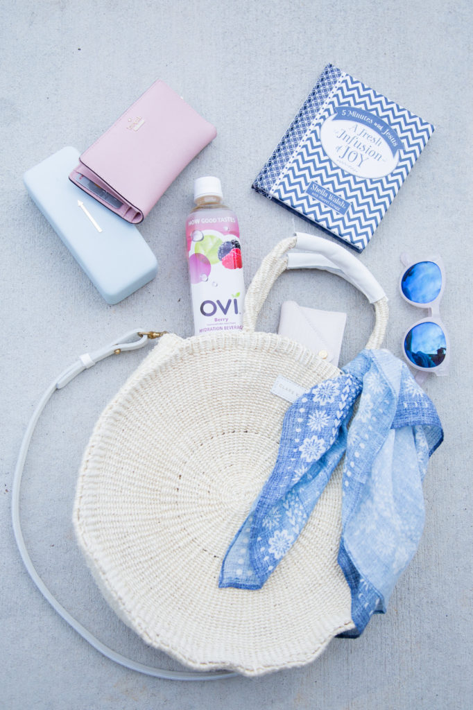 Louella Reese What's In My Summer Back // Ovi Hydration