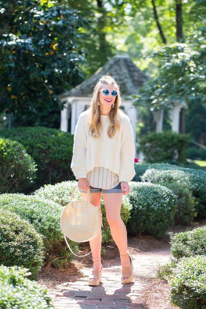 Cropped Summer Sweater | Louella Reese | Life & Style Blog