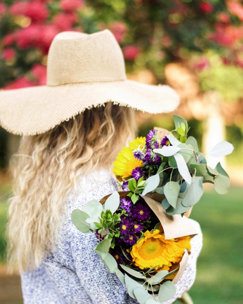 July Recap // Summer Bouquet // Louella Reese Life & Style Blog
