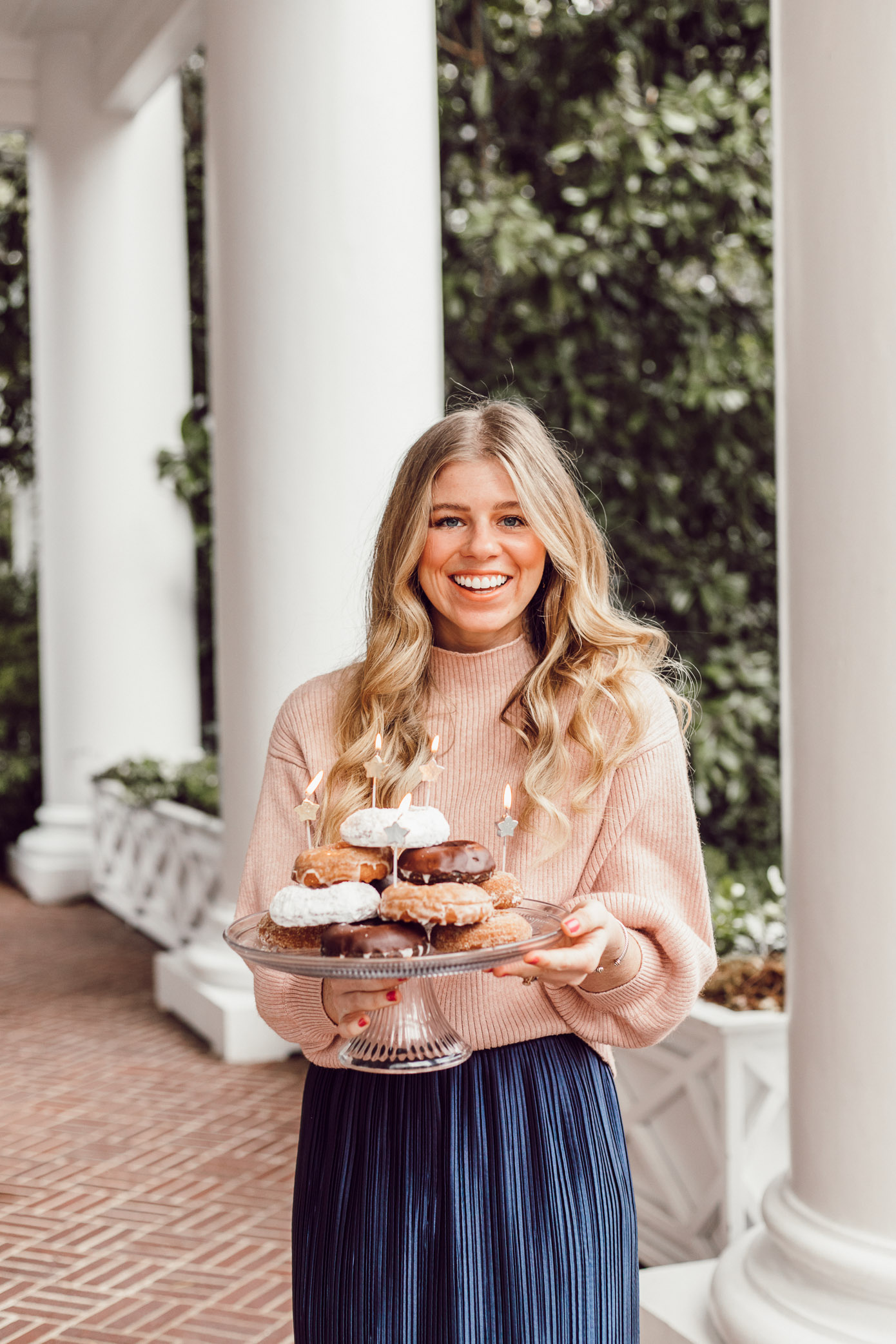 29 Life Lessons Learned featured on Louella Reese Blog for her 29th Birthday   Donut Cake