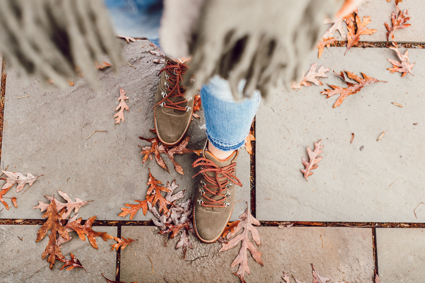 The Brand I Can Always Count On For Great Boots featured on Louella Reese | Great Boots for Winter, Olive Hiking Boots