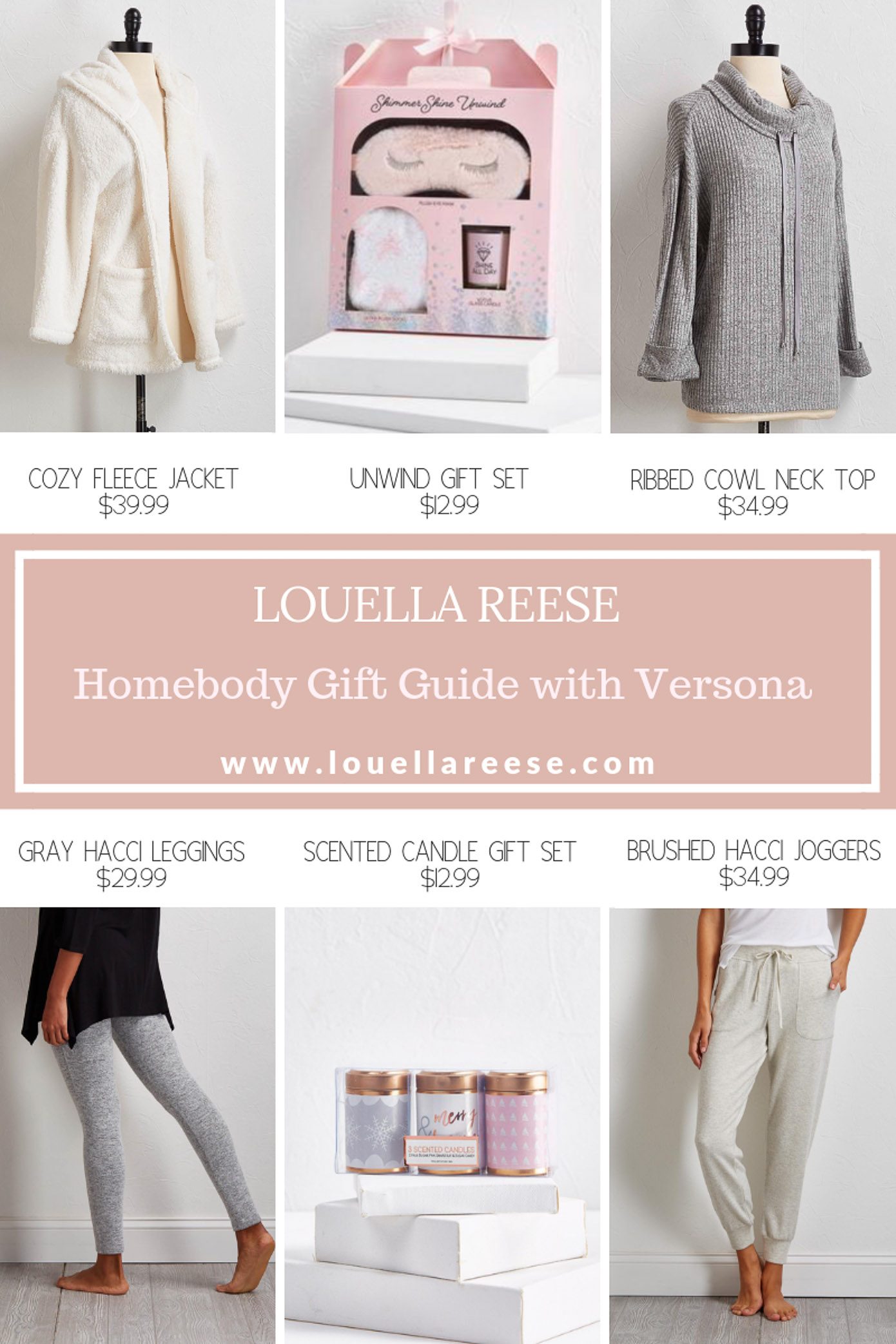 Homebody Gift Guide | Gifts for a Homebody featured on Louella Reese