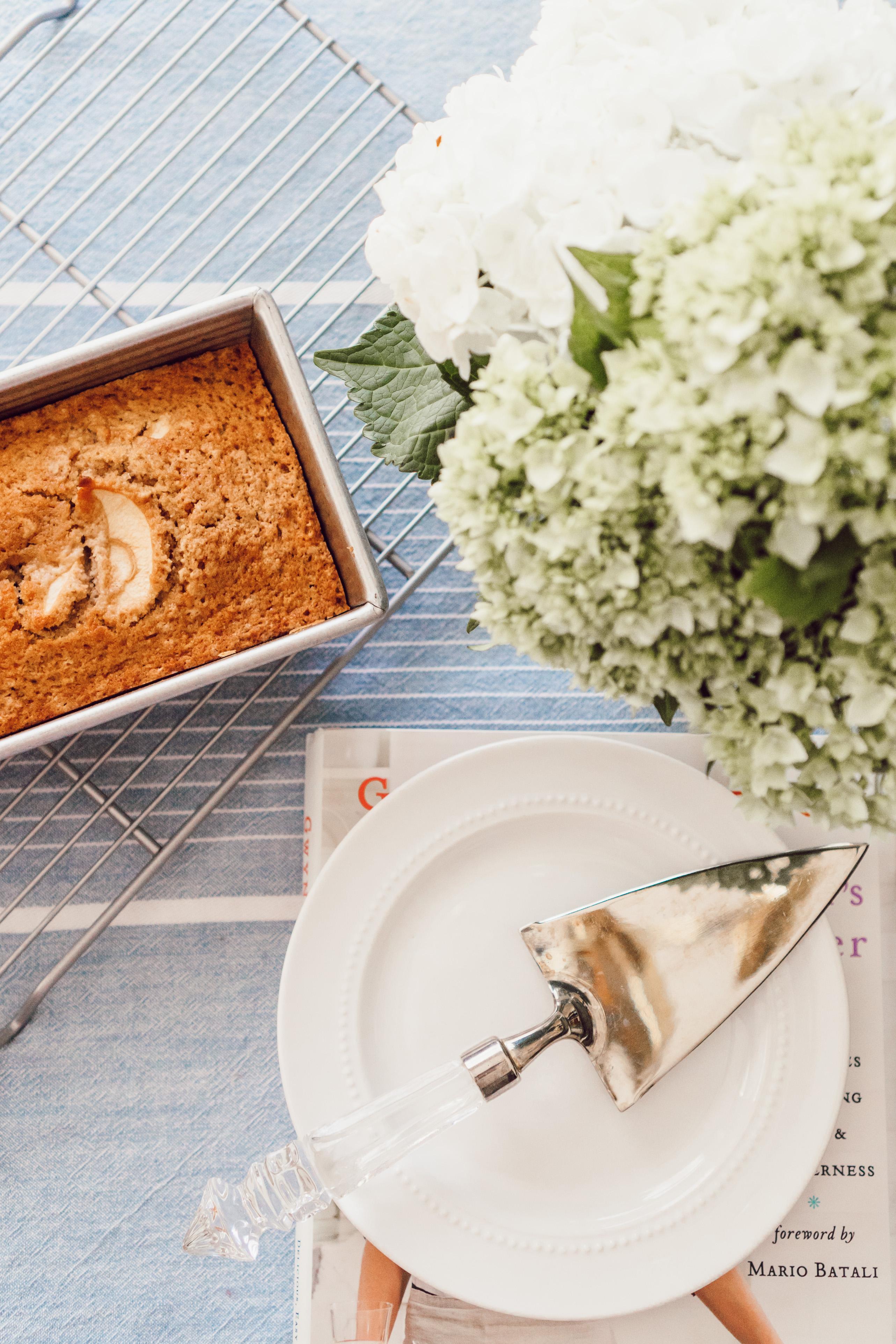 The BEST Cinnamon Apple Bread | Louella Reese
