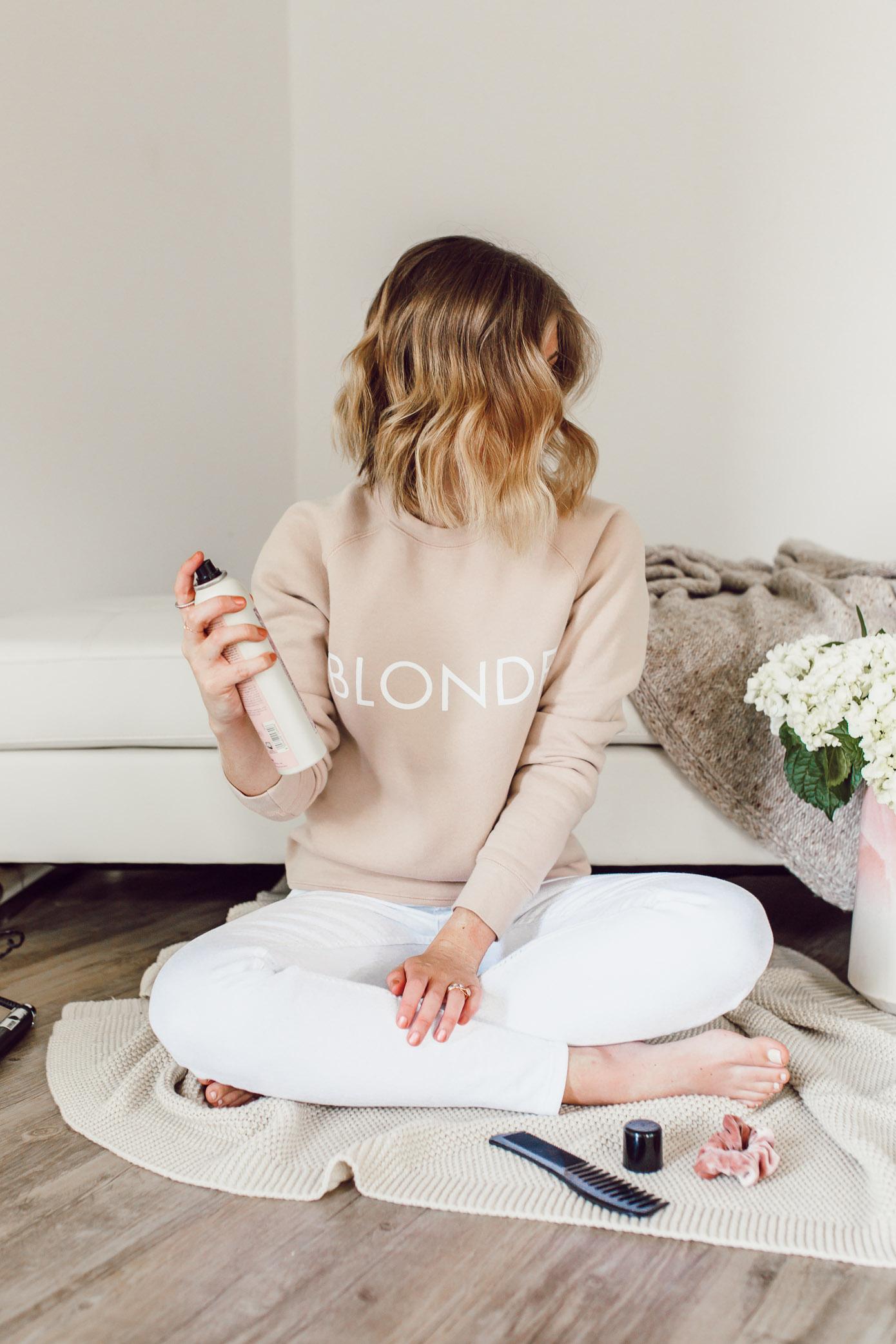 Short Hair Curling Wand Tutorial | Curled Lob Haircut | Louella Reese