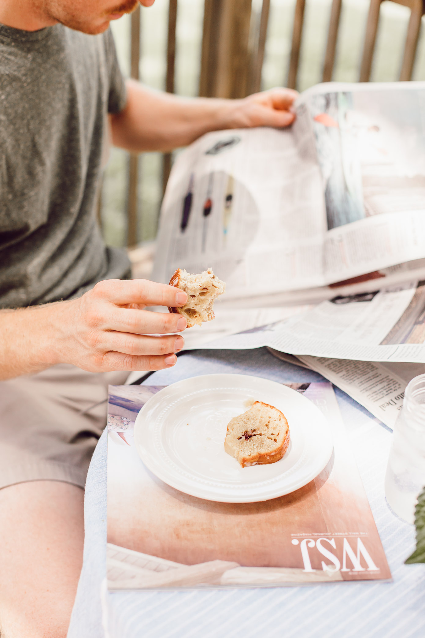 Healthy Peach Bundt Cake Made with Greek Yogurt   FWTFL Recipes   Louella Reese