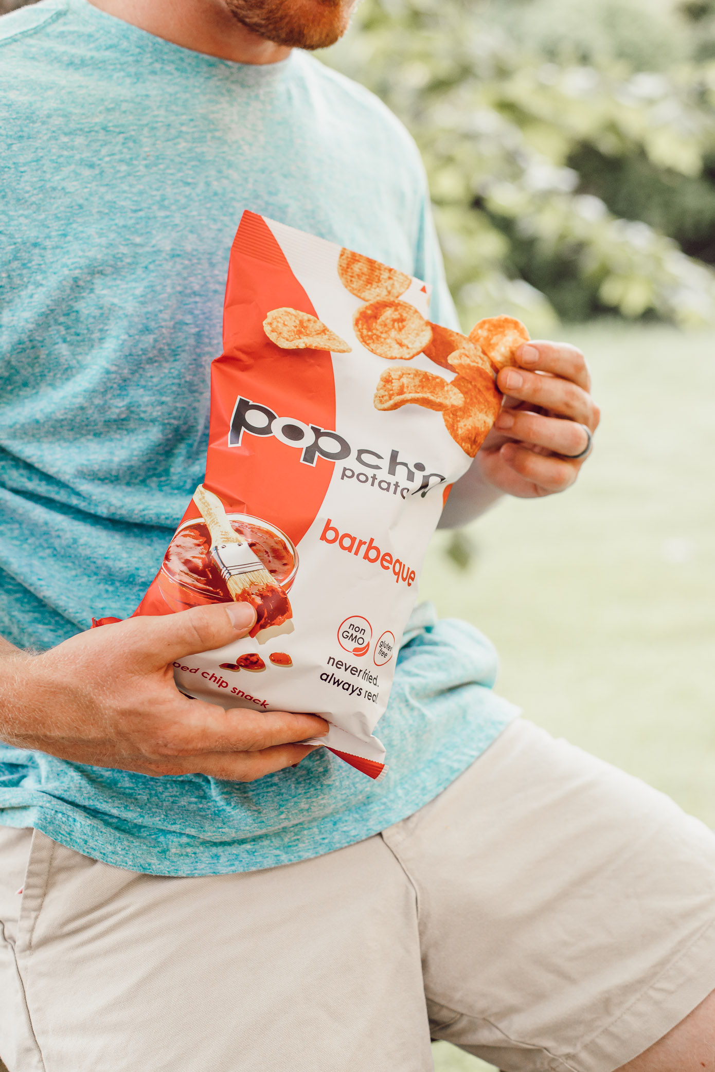 A Healthier Summer Snack to Reach For | Popchips | Louella Reese
