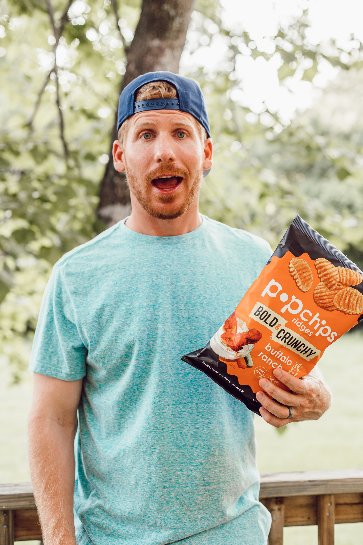 A Healthier Summer Snack to Reach For | Buffalo Ranch Popchips | Louella Reese
