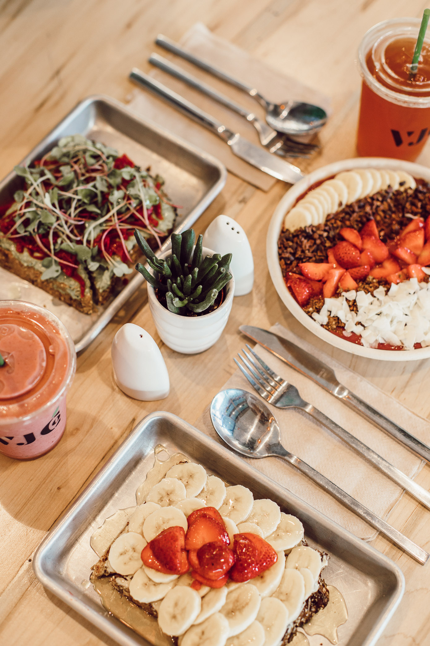 Where to Eat in Winston-Salem NC   Village Juice Company   Louella Reese