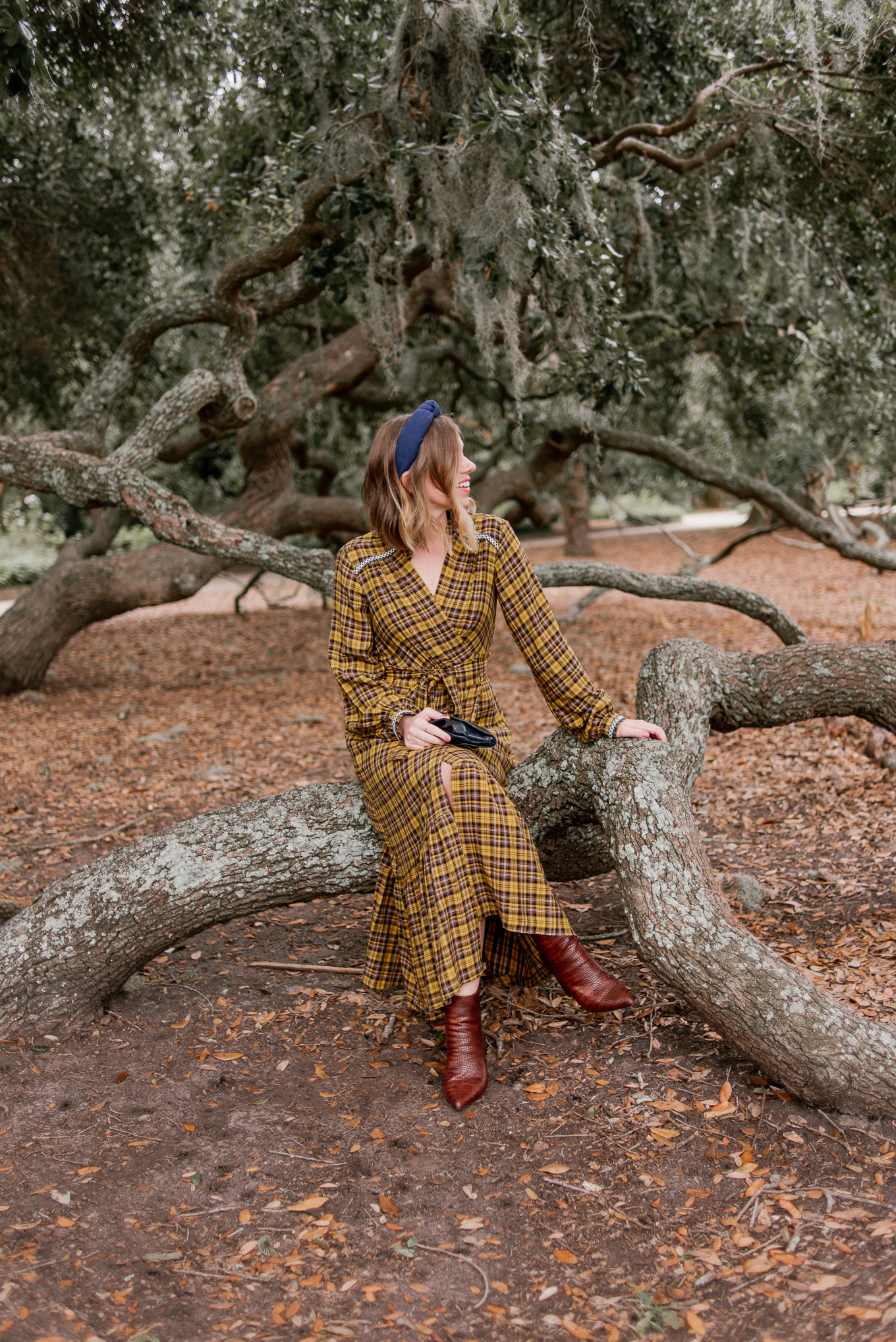 Cute Fall Maxi Dress for All Occasions | Yellow Plaid Maxi Dress | Louella Reese