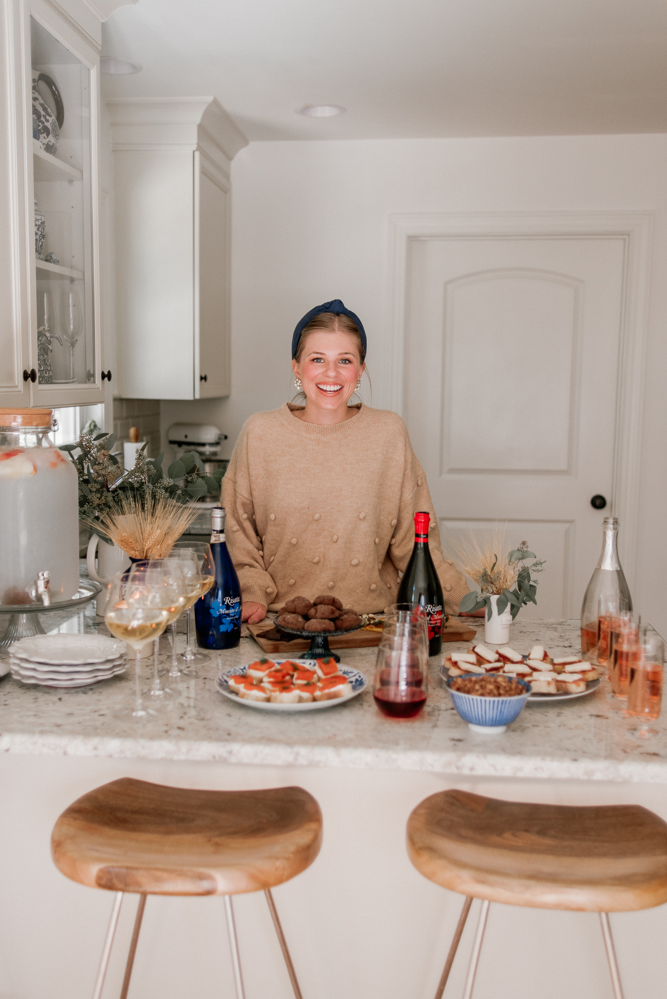 Holiday Appetizer Ideas | Holiday Wine and Food Pairings | Louella Reese
