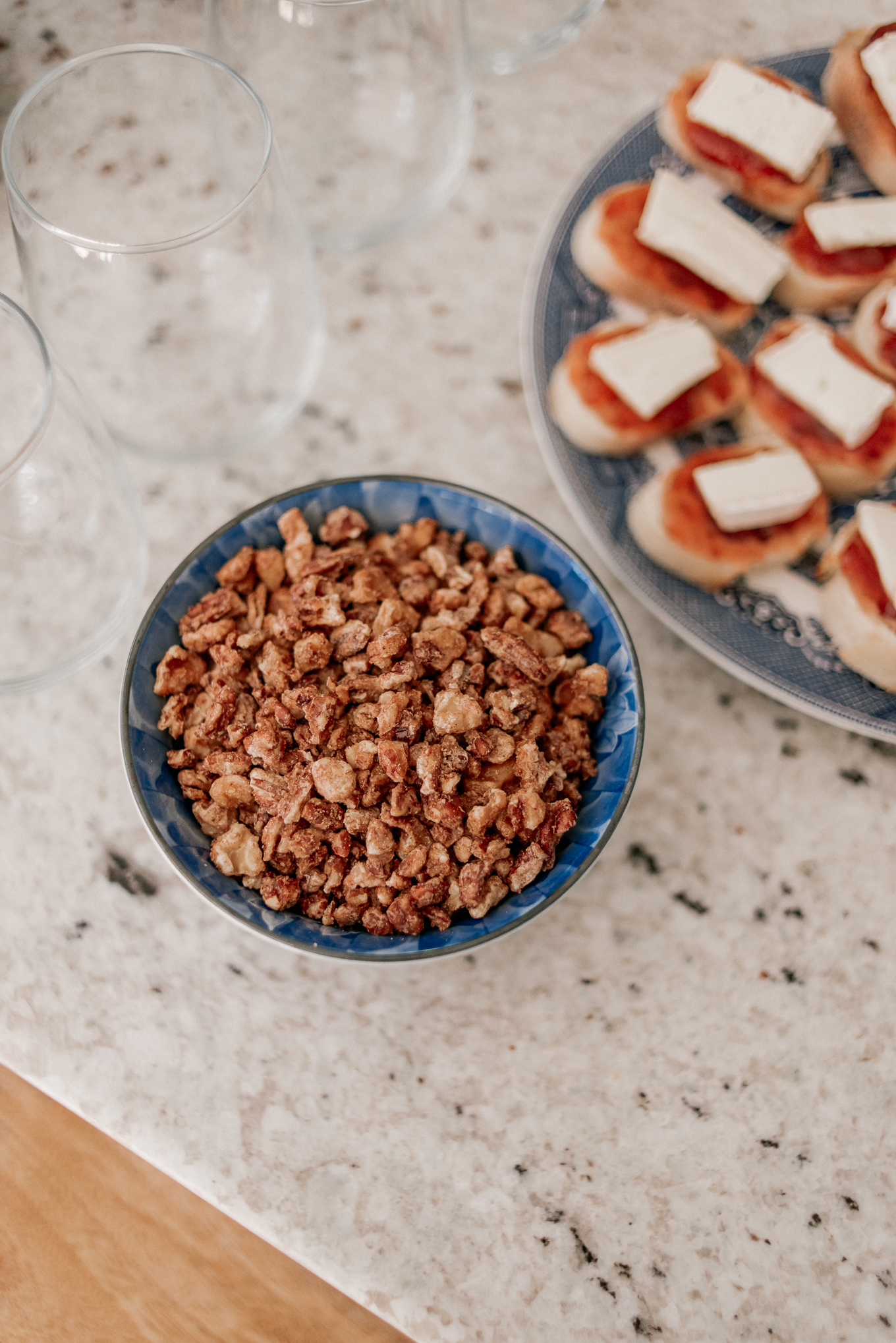Spiced Nuts | Holiday Appetizers | Louella Reese
