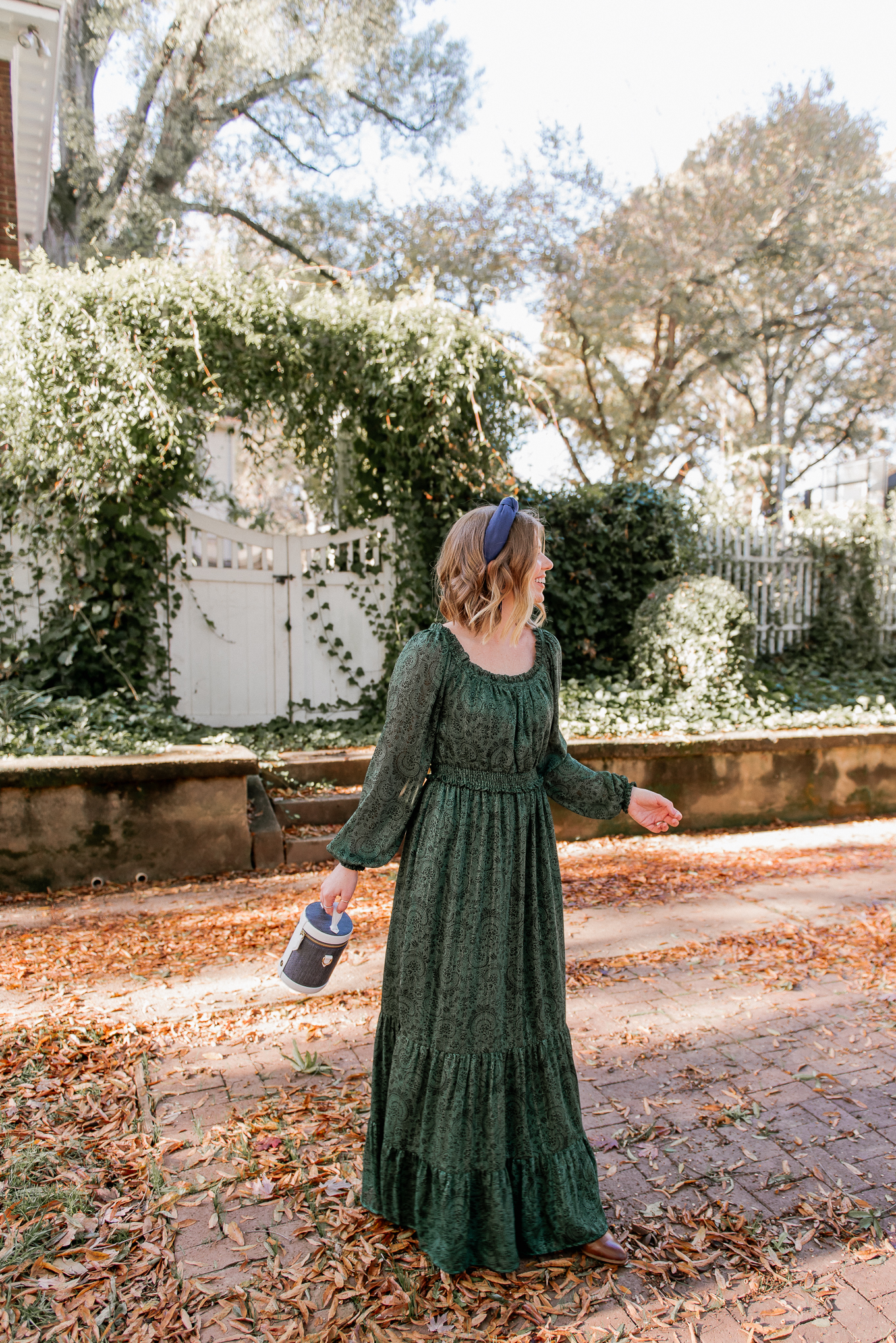 How to Style a Holiday Dress in a Fresh Way | Louella Reese