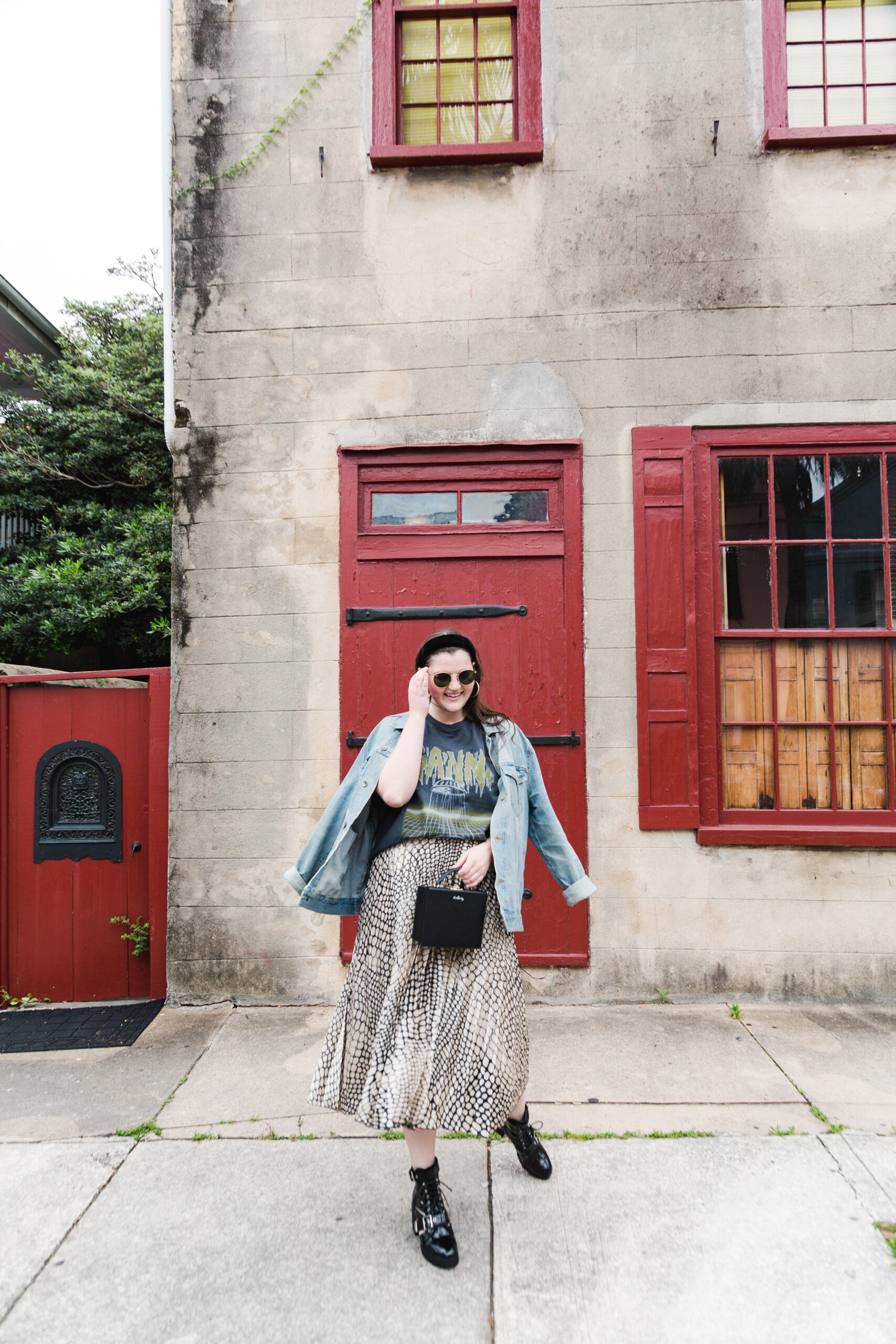 Cool Girl Graphic Tee Style | Louella Reese