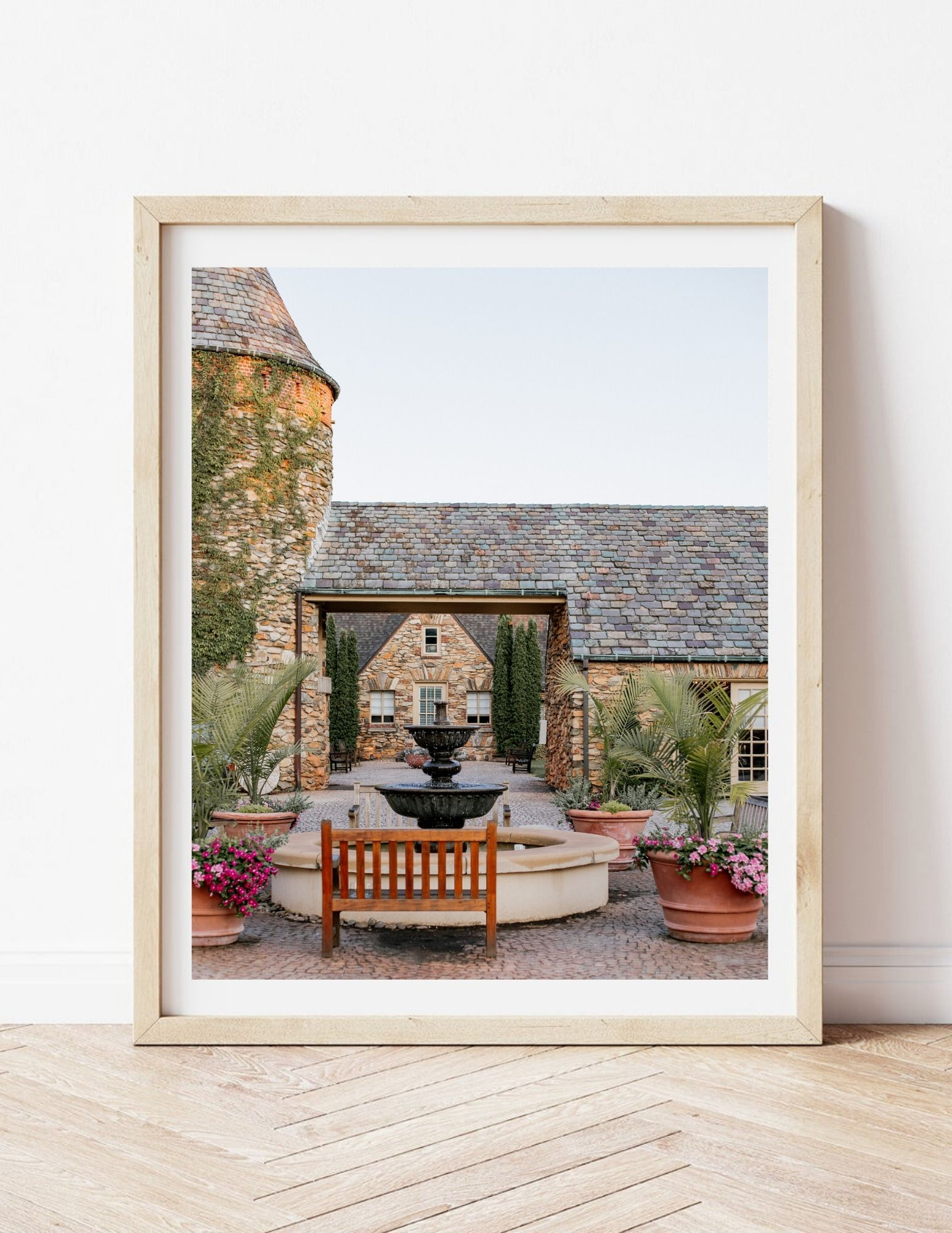 French Inspired Estate Print