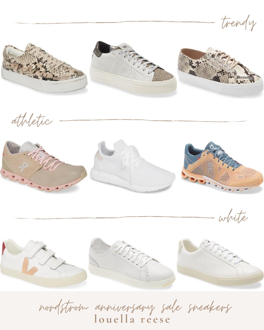 2020 Nordstrom Anniversary Sale Sneakers | Louella Reese
