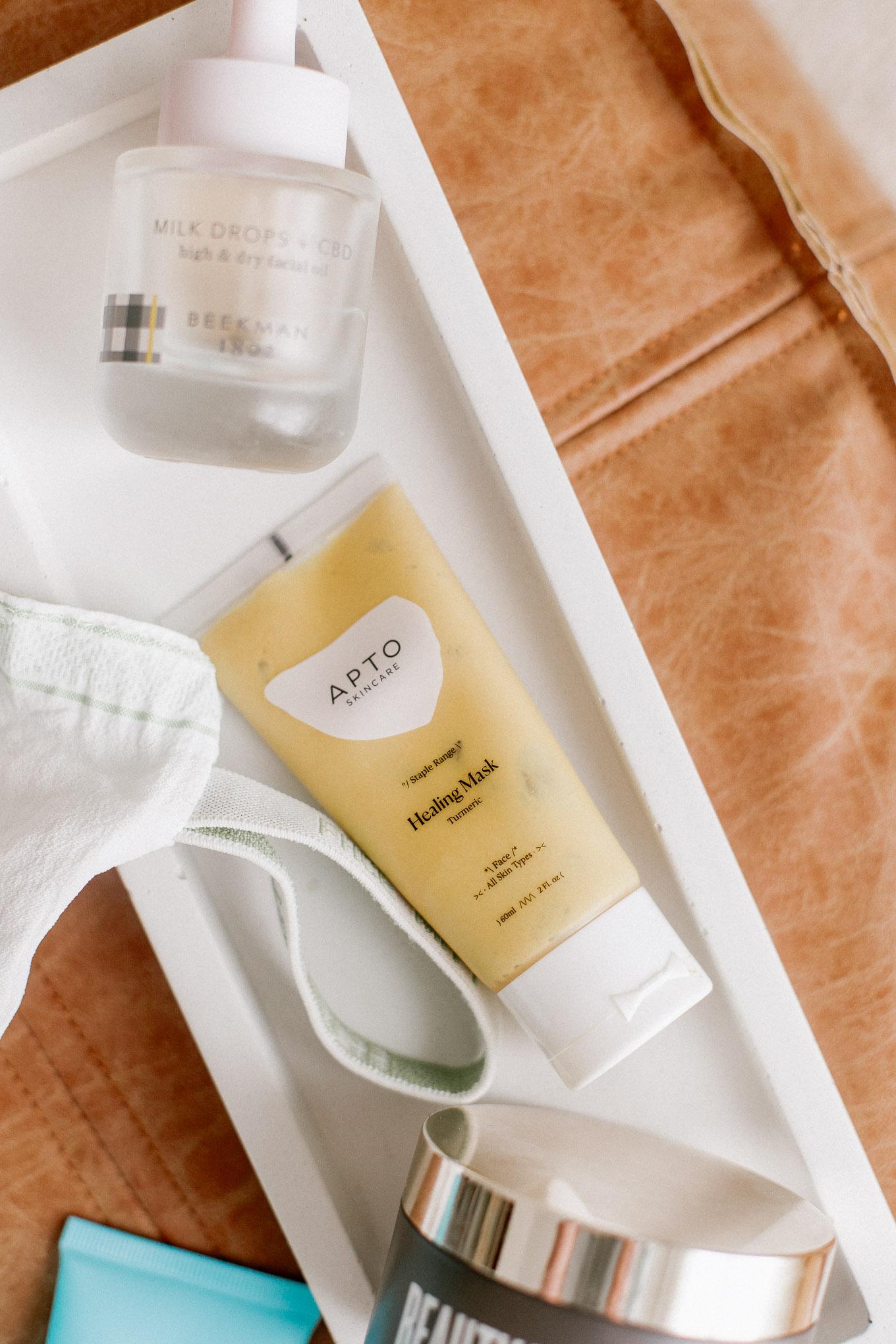 How to Heal Product Burn   Turmeric Healing Mask for Sensitive Skin   Louella Reese