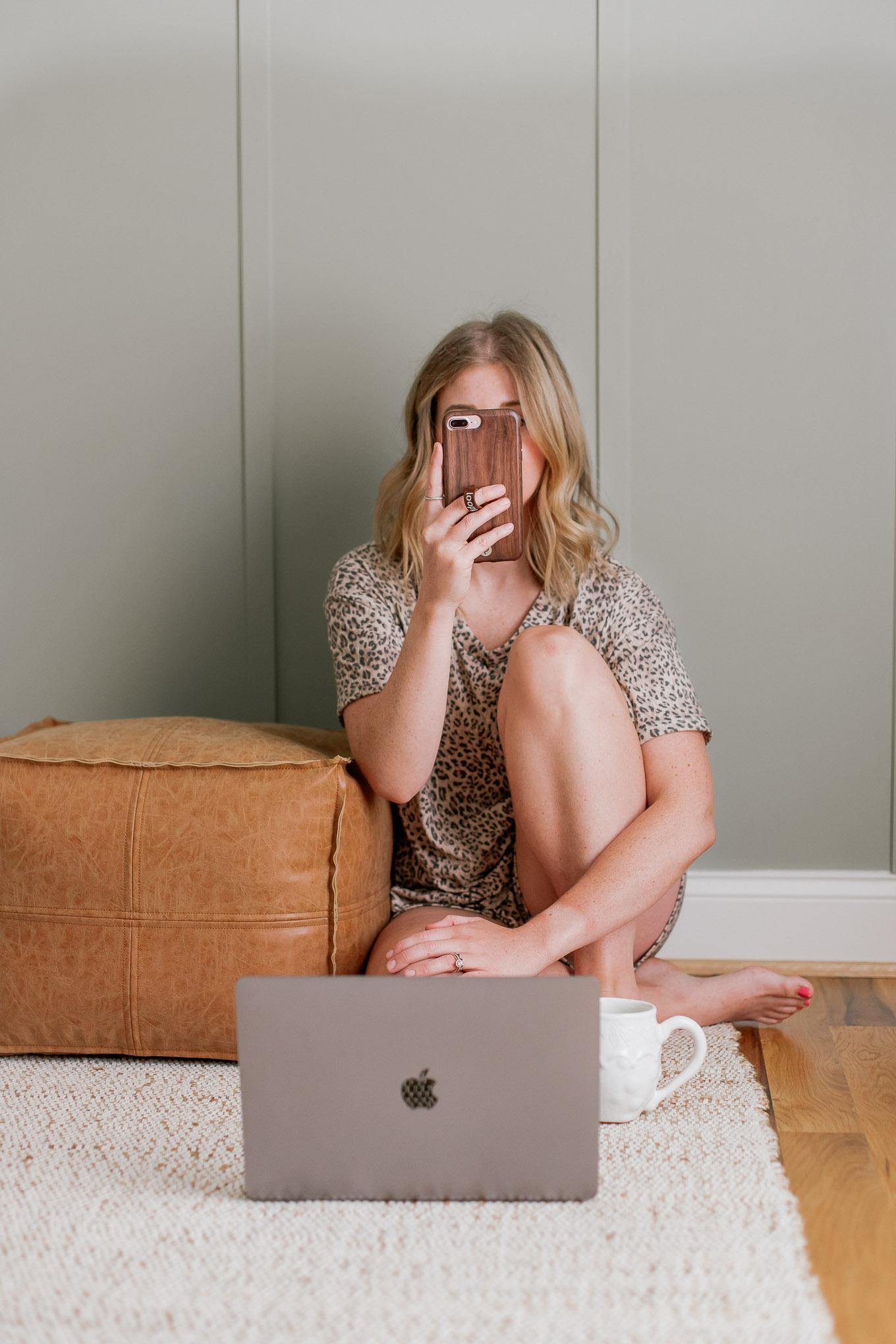 Leopard Print Loungewear | Louella Reese