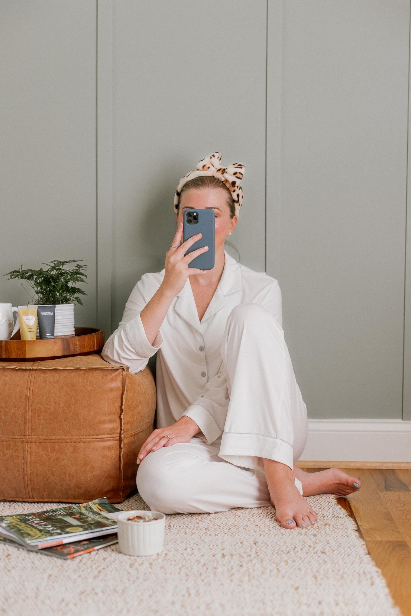 Softest Pajama Set Ever! Bamboo Pajama Set   Summer Loungewear   Louella Reese
