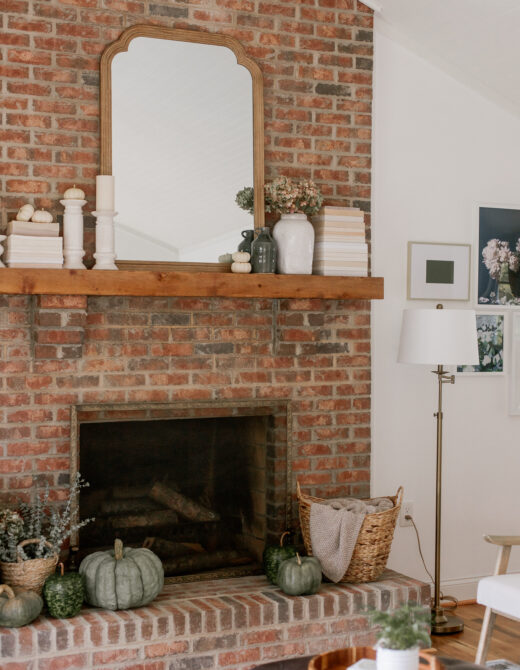 Five Fall Mantle Essentials | Louella Reese