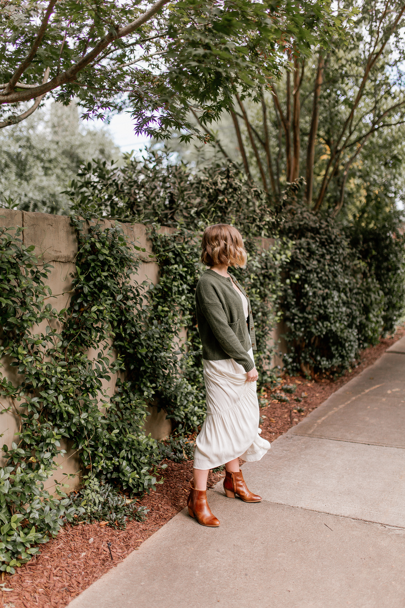 green pieces to shop for fall   green cardigan sweater