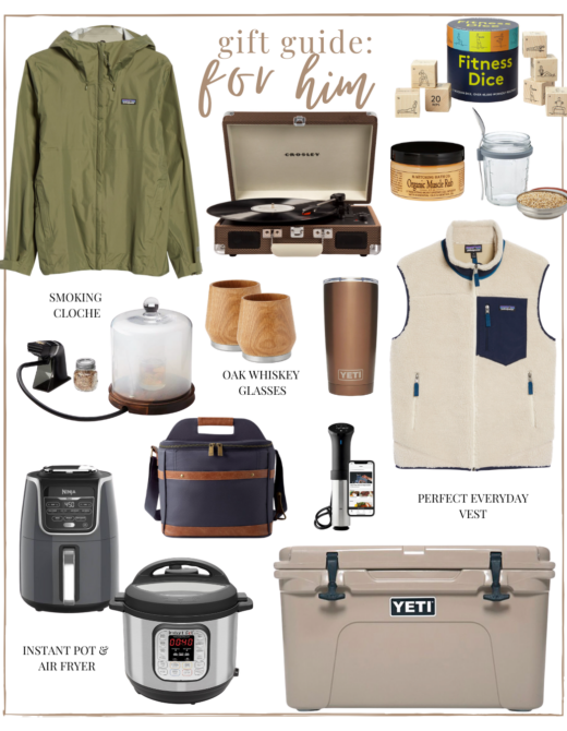 2020 Holiday Gift Guide: For Him | Unique Gifts for the Guys in your Life - Boyfriend, Husband, Dad, Brother | Louella Reese