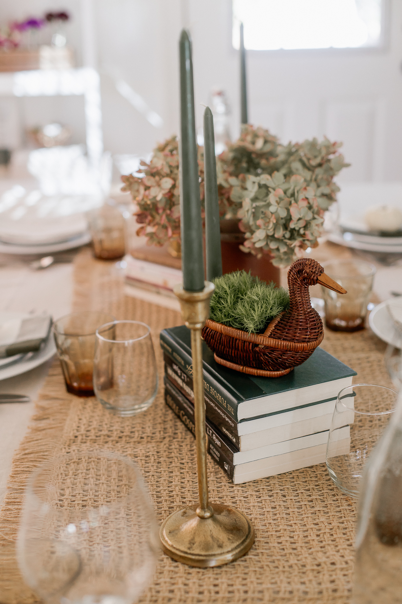 Decorating with Ducks | Wicker Duck, Brass Ducks | Louella Reese