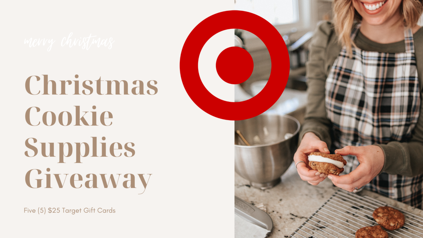 Christmas Cookie Target Giveaway