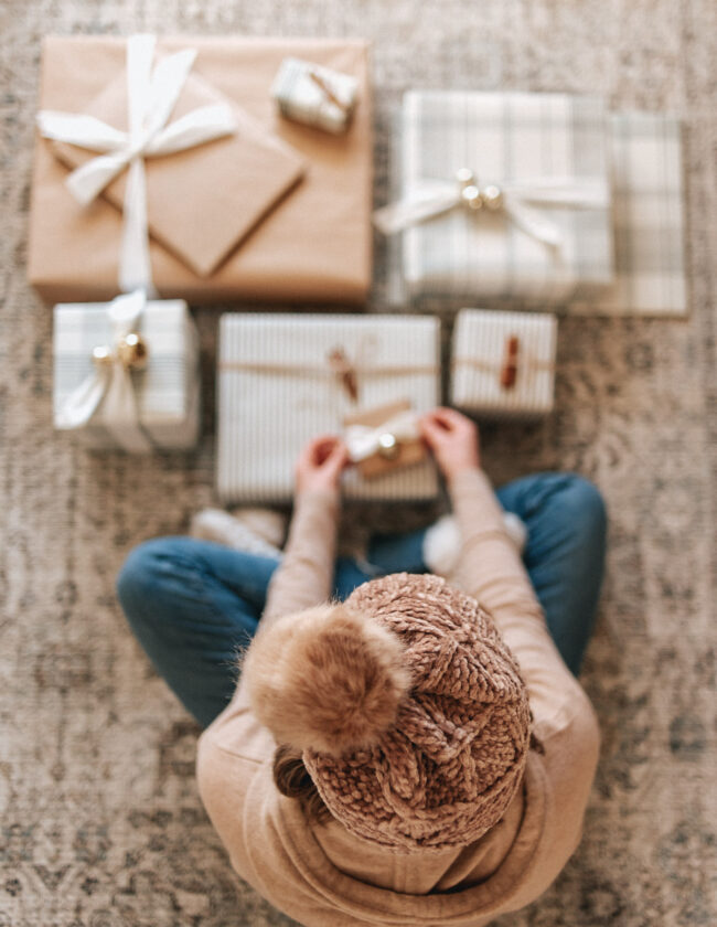 Holiday Wrapping Paper Ideas, Christmas Gift Wrapping Ideas | Louella Reese