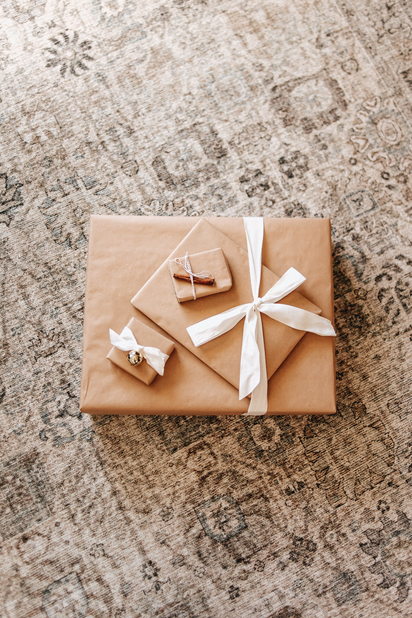 Kraft Paper as Christmas Wrapping Paper - How to Dress Up Kraft Paper | Louella Reese