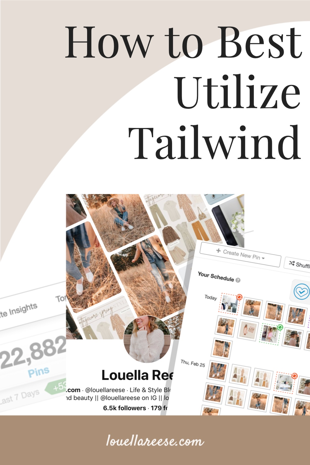 How to Best Utilize Tailwind   Louella Reese