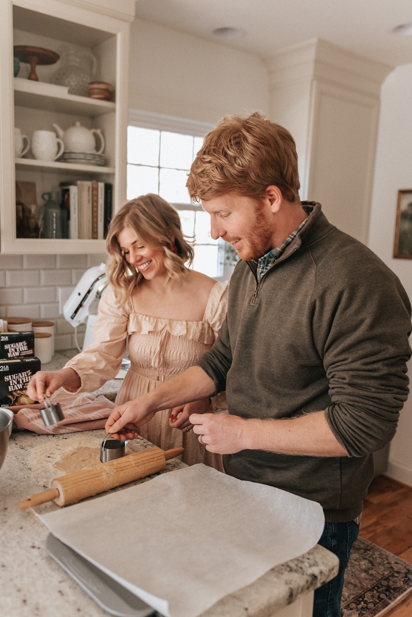 At Home Date Night Idea - Bake-Off | lifestyle | Louella Reese