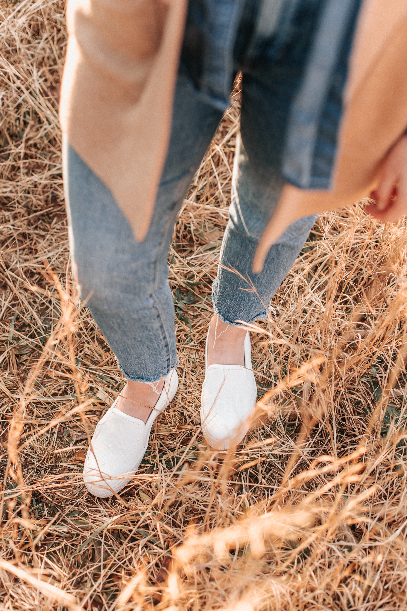 Essential Closet Staples for your Wardrobe | White Sneakers, Slip-on Sneakers | Louella Reese