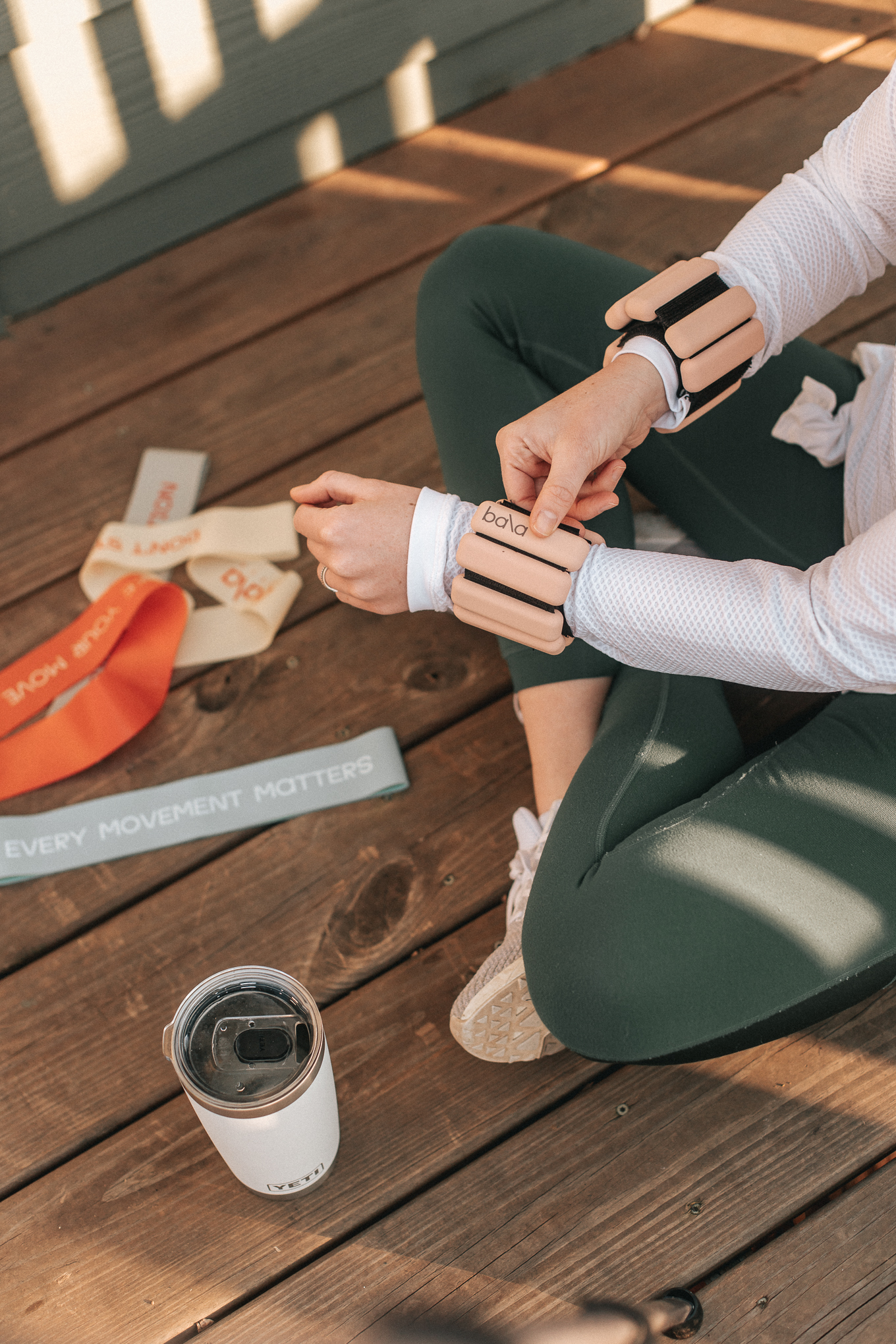 Weighted Workout Bracelets | Louella Reese