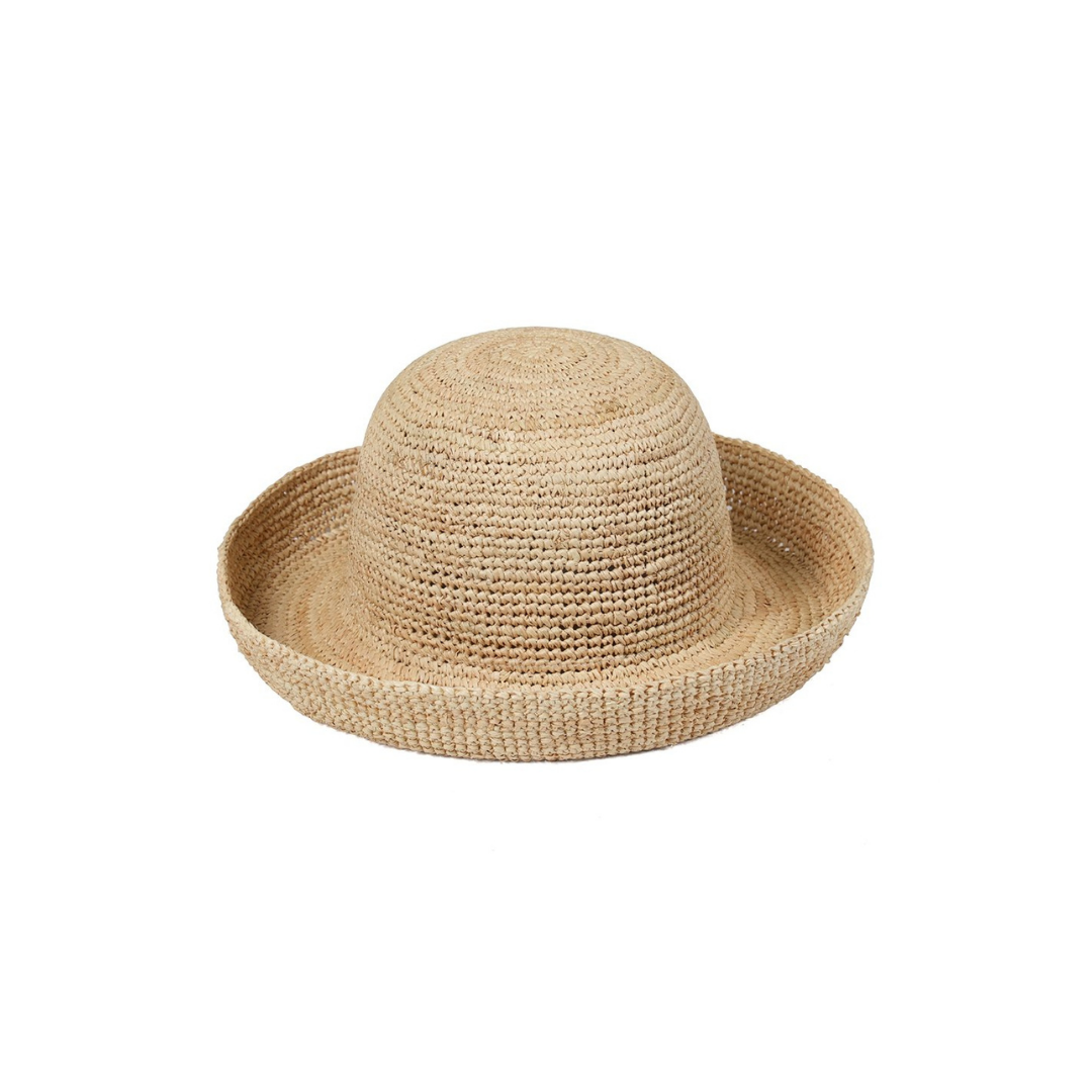 lack of color raffia cruiser hat