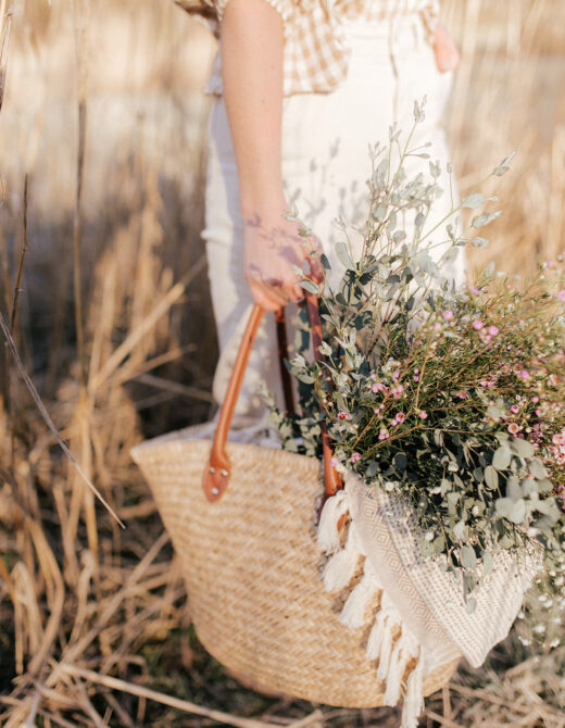 Save and Splurge Straw Bags | Louella Reese