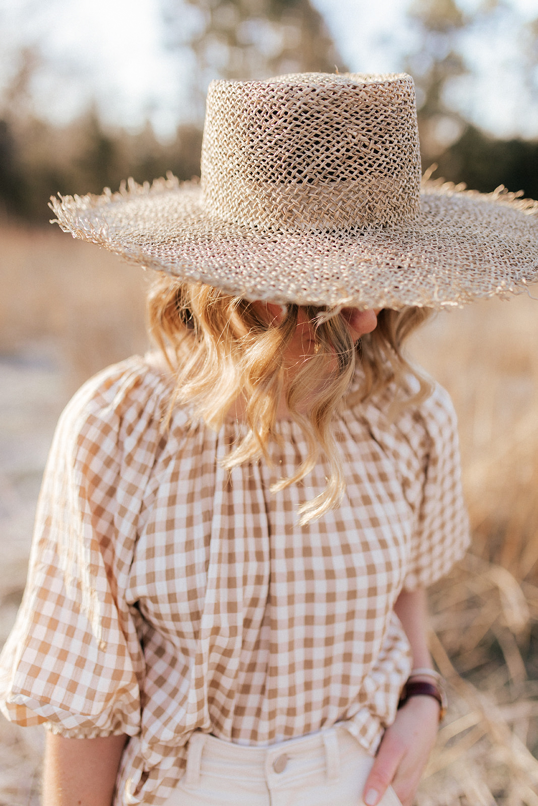 Save and Splurge Straw Hats for Spring and Summer | Louella Reese