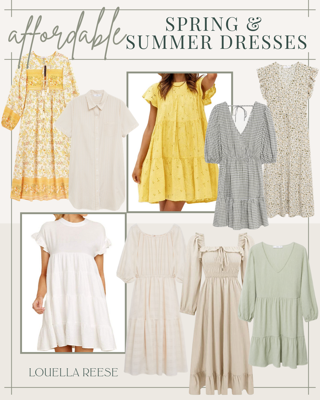 Affordable Dresses for Spring and Summer | Louella Reese