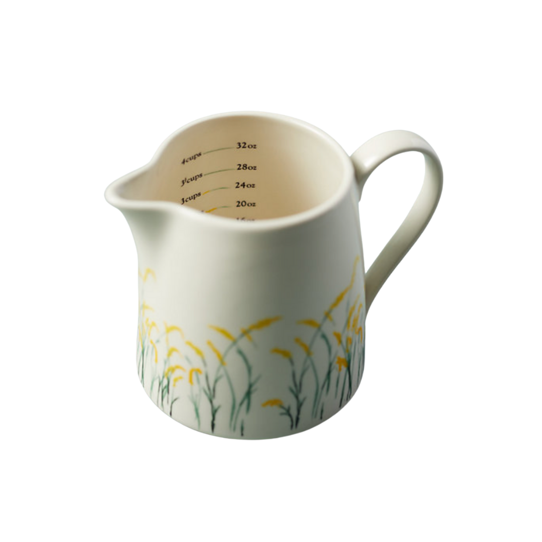 wildflower measuring cup, kitchen decor, lifestyle | Louella Reese