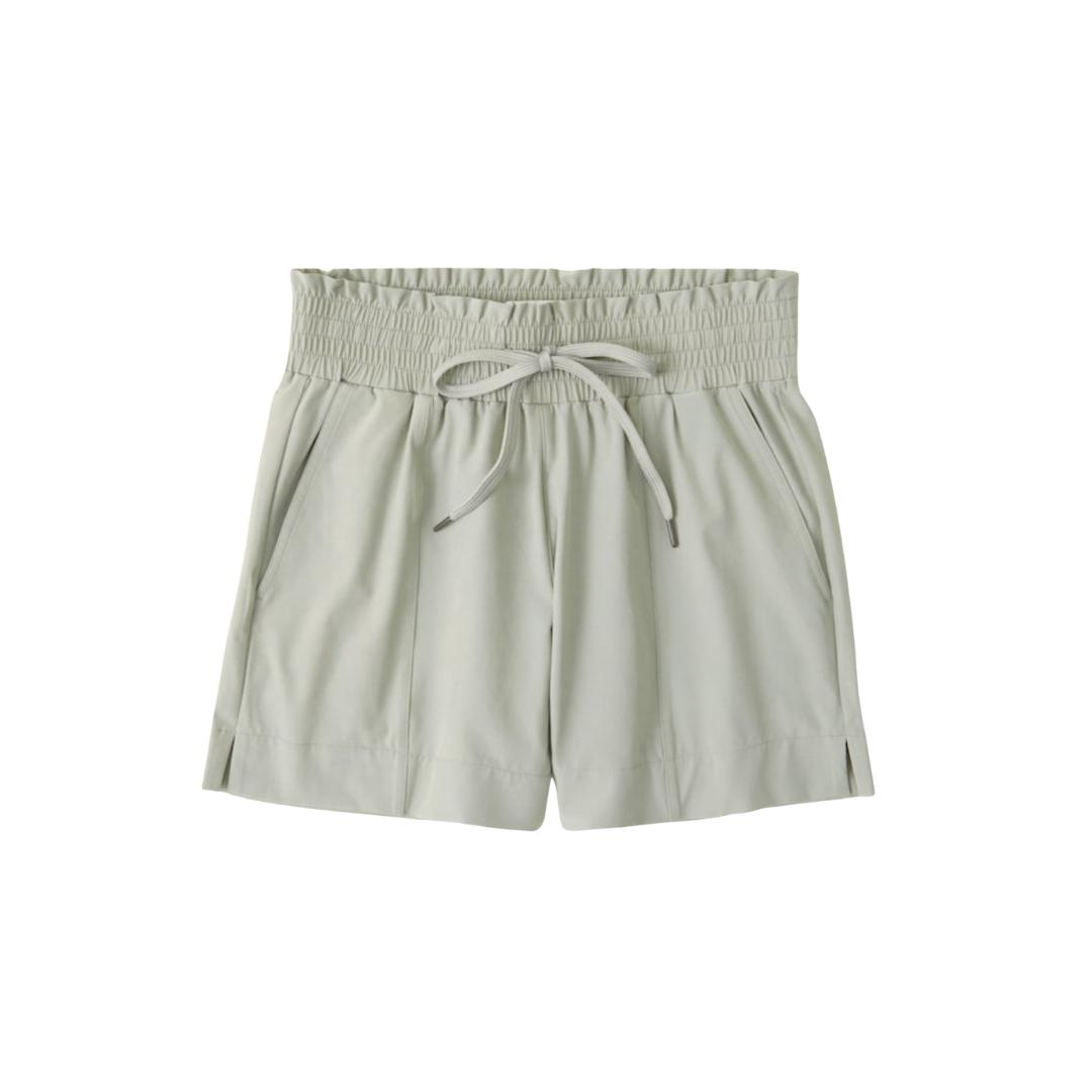 sage workout shorts, activewear | Louella Reese